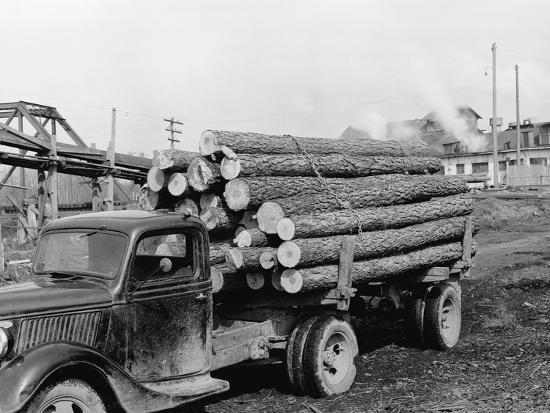 r-mattoon-logging-truck-at-sawmill