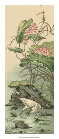 racinet-crane-and-lotus-panel-ii