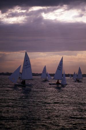 racing-at-sunset-c-1990