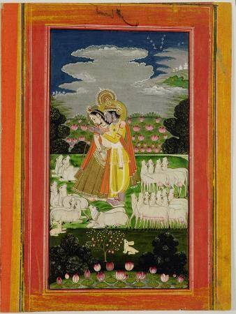radha-and-krishna-embrace-in-an-idealised-landscape-with-cows-circa-1780