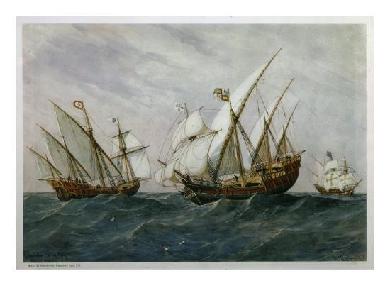 rafael-monleon-y-torres-16th-century-caravels