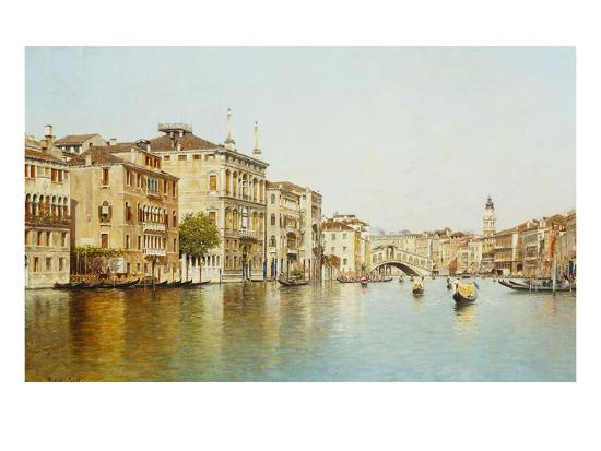 rafael-senet-the-grand-canal-with-the-rialto-bridge-venice
