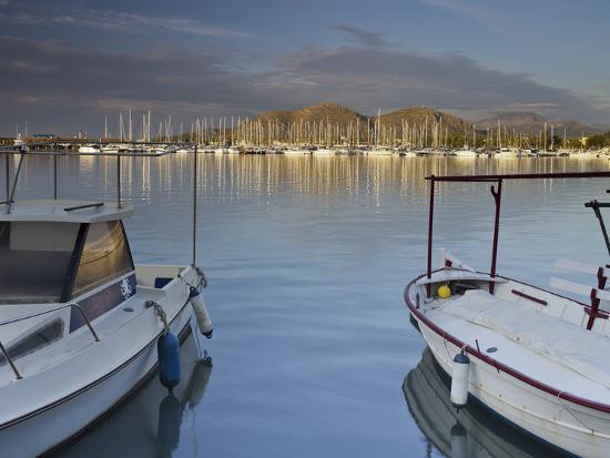 rainer-mirau-yacht-harbour-in-port-d-alcudia-majorca-spain
