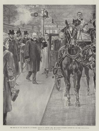 ralph-cleaver-the-arrival-of-king-edward-vii-at-victoria-station-on-23-january