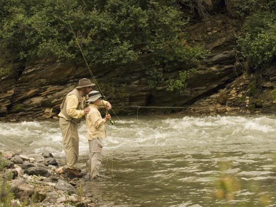 ralph-clevenger-father-and-son-fly-fishing-in-moose-creek