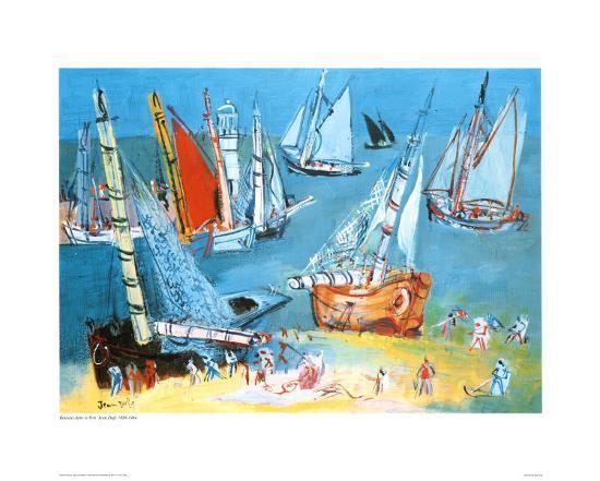 raoul-dufy-bateaux-dans-ie-port