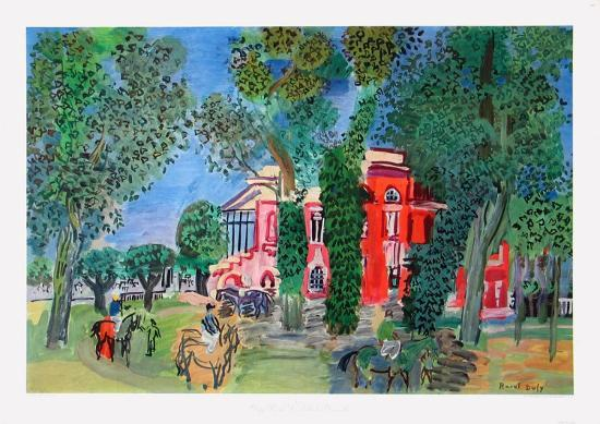raoul-dufy-paddock-at-deauville