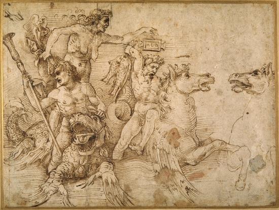 raphael-battle-of-the-tritons-after-anrea-mantegna