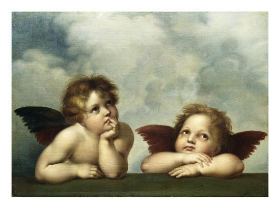 raphael-painting-of-cherubim-after-a-detail-of-sistine-madonna
