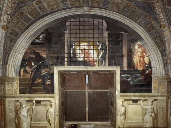 raphael-the-liberation-of-saint-peter-stanza-di-eliodoro-1514