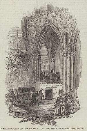 re-interment-of-queen-mary-of-gueldres-in-holyrood-chapel