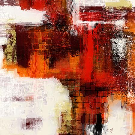 red-abstract-i