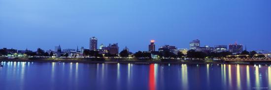 reflection-of-buildings-in-water-susquehanna-river-harrisburg-pennsylvania-usa
