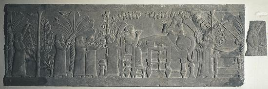 relief-depicting-ashurbanipal-s-banquet