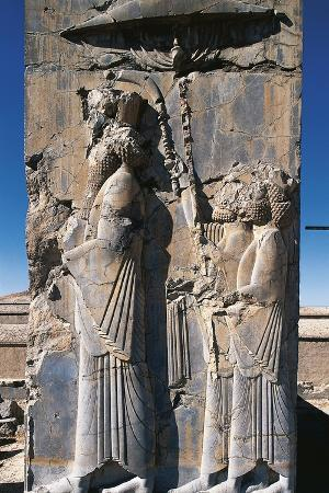 relief-of-king-darius-and-two-assistants