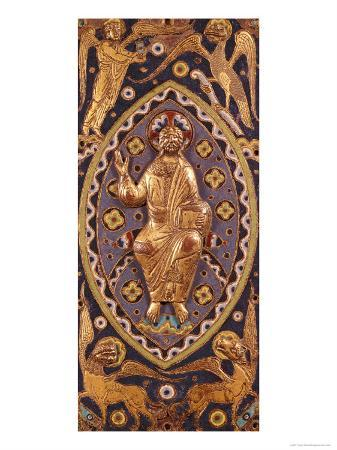reliquary-plaque-depicting-christ-with-the-symbols-of-the-evangelists