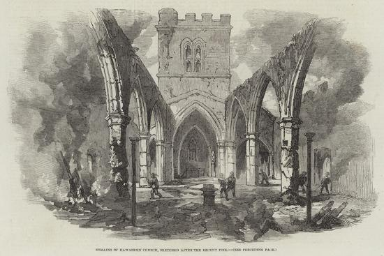 remains-of-hawarden-church-sketched-after-the-recent-fire