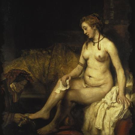 rembrandt-van-rijn-bathsheba-bathing-1654