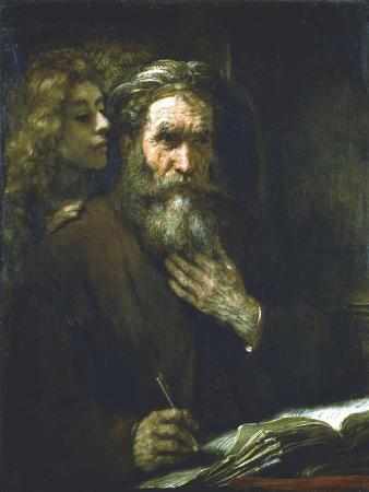 rembrandt-van-rijn-st-matthew-the-evangelist-1661