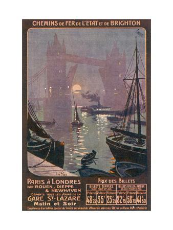 rene-pean-by-rail-and-sea-from-paris-to-brighton-or-london-featuring-the-thames-and-tower-bridge