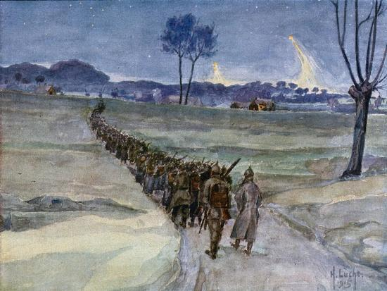 replacements-arriving-for-the-trenches-ypres