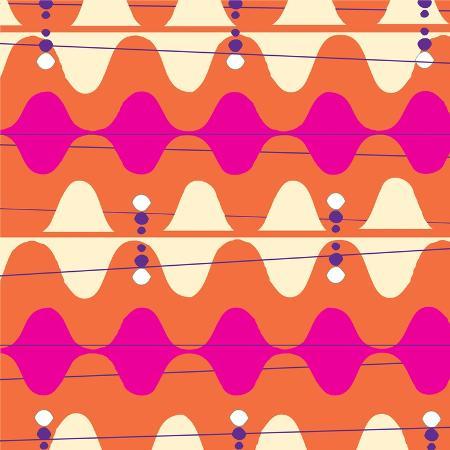 retro-wave-pattern-orange