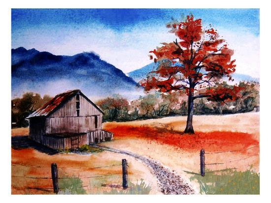 rich-lapenna-kentucky-barn-with-blue-mountains-in-background