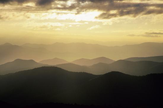 richard-and-susan-day-sunset-and-mountains-along-blue-ridge-parkway-north-carolina
