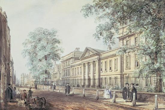 richard-bankes-harraden-pd-63-1958-emmanuel-college-cambridge-seen-from-st-andrew-s-street