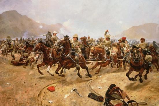 richard-caton-woodville-ii-maiwand-1880-saving-the-guns-1882