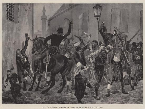 richard-caton-woodville-ii-riots-in-stamboul-massacre-of-armenians-by-police-softas-and-kurds
