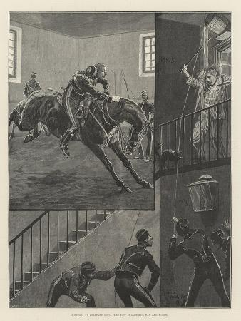 richard-caton-woodville-ii-sketches-of-military-life-the-new-subaltern-day-and-night