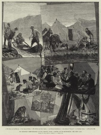 richard-caton-woodville-ii-the-european-demonstration-on-the-adriatic-coast-camping-out-in-montenegro