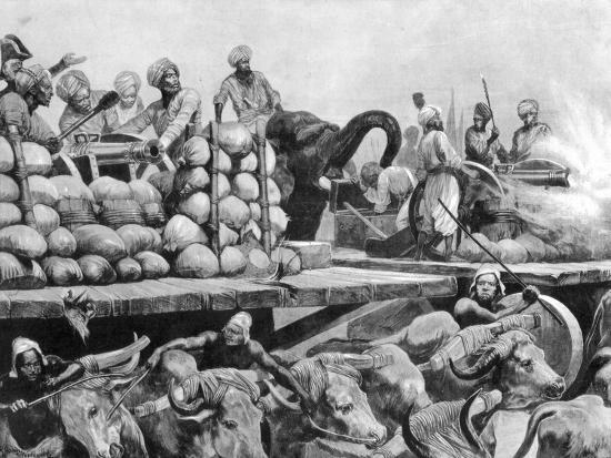 richard-caton-woodville-ii-the-nawab-siraj-ud-daulah-s-artillery-on-its-movable-platform-india-1757