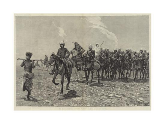 richard-caton-woodville-ii-the-nile-expedition-a-column-of-troops-starting-across-the-desert