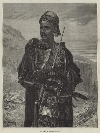 richard-caton-woodville-ii-the-war-a-turkish-outpost