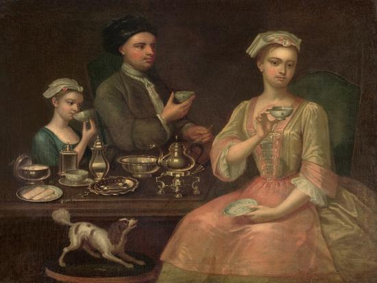 richard-collins-family-of-three-at-tea-c-1727