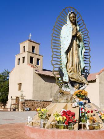 Canvas Santa Fe >> Santuario De Guadalupe Church, Santa Fe, New Mexico, United States of America, North America ...