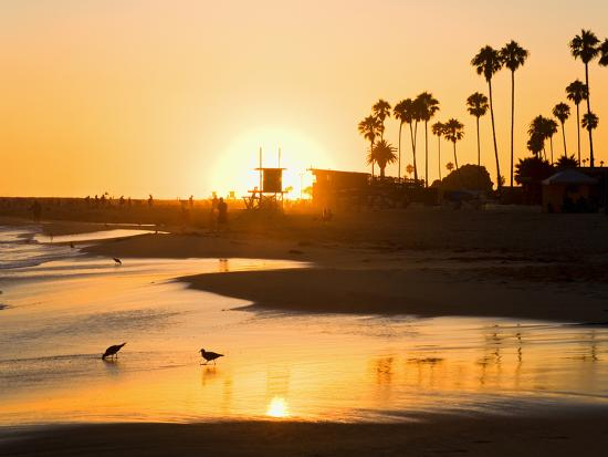 richard-cummins-sunset-at-corona-del-mar-beach-newport-beach-orange-county-california-united-states-of-america