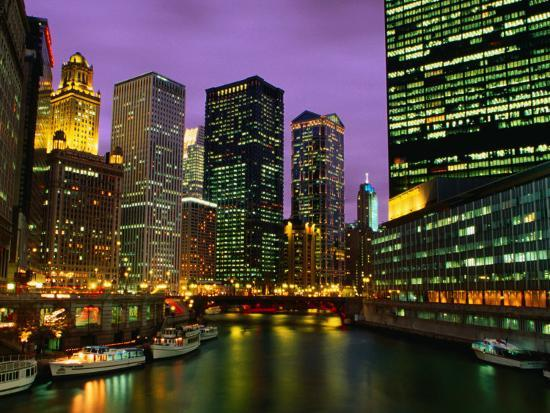 richard-cummins-the-city-and-river-from-the-michigan-bridge-chicago-illinois-usa