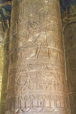 richard-maschmeyer-columns-in-the-hypostyle-hall-temple-of-horus-edfu-egypt-north-africa-africa