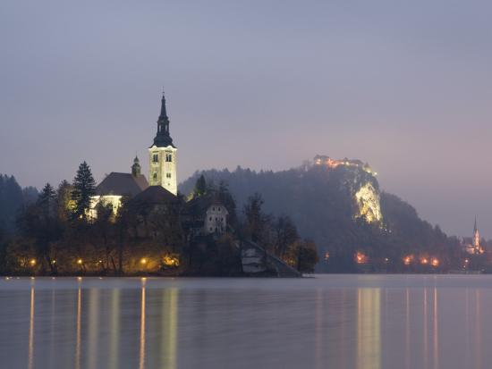 richard-nebesky-baroque-church-of-assumption-on-bled-island-with-renaissance-bled-castle