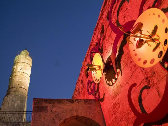 richard-nowitz-tower-of-david-museum-jerusalem-israel-lit-for-sound-and-light-show