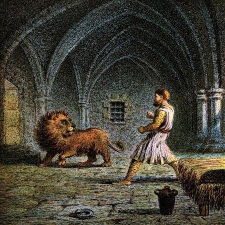 richard-the-first-and-a-lion-12th-century
