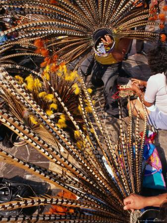 rick-gerharter-traditional-headdress-used-in-native-dance-outside-the-basilica-de-guadalupe-mexico-city-mexico