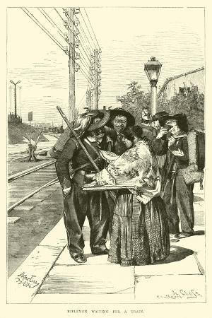 riflemen-waiting-for-a-train