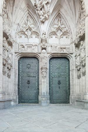 rob-tilley-toledo-cathedral-door-toledo-spain & Toledo Cathedral Door Toledo Spain Photographic Print by Rob ...