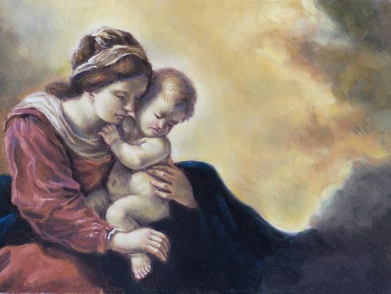 robangel69-olio-su-tela-di-una-giovane-donna-e-il-suo-bambino