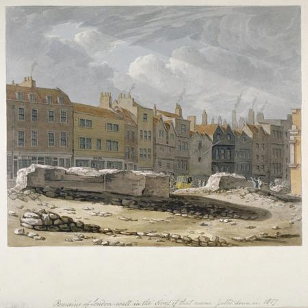 robert-blemmell-schnebbelie-remains-of-london-wall-which-were-pulled-down-in-1817-city-of-london-1817