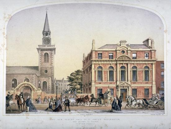 robert-dudley-st-james-s-church-piccadilly-and-the-new-vestry-hall-london-c1856